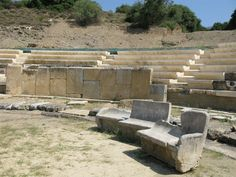 Ancient theater of Maronia Photo from Maronia in Evros | Greece.com