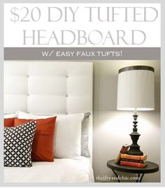 Diy headboards 278730664408799807 - Tufted Headboard Source by tiffonee Diy Tufted Headboard, Diy Headboards, Headboard Ideas, White Headboard, Creative Headboards Diy, Tufting Diy, Chevron Headboard, Cheap Diy Headboard, Make Your Own Headboard