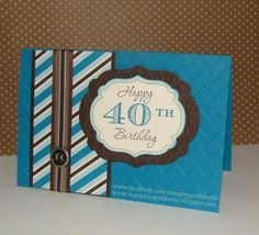 Say Goodbye to..... Memorable Moments #stampinup #handmadecards