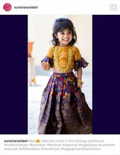 Kids Party Wear Dresses, Kids Dress Wear, Kids Gown, Dresses Kids Girl, Kids Outfits, Baby Dresses, Indian Dresses For Kids, Kids Indian Wear, Kids Ethnic Wear