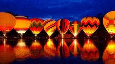 Balluminaria Hot Air Balloon Glow Festival [1920x1080] Need #iPhone #6S #Plus #Wallpaper/ #Background for #IPhone6SPlus? Follow iPhone 6S Plus 3Wallpapers/ #Backgrounds Must to Have http://ift.tt/1SfrOMr