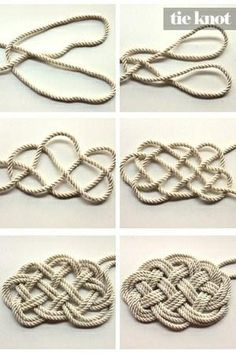 nautical rug | DIY Nautical Rope Rug http://pinterest.com/pin/21251429464282827/