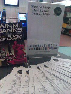 World Book Night 2012 display  #Epsom  #2012  #April