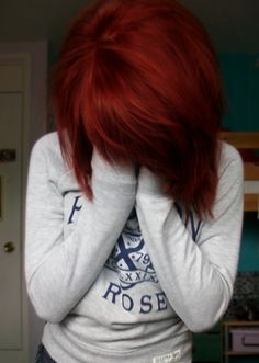 Red Hair Shades every red hair shade imaginable...I'm tempted to try this crazy color :)