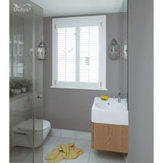 Find the best colour paint for your living room, bathroom, bedroom and more with Dulux paint. Find the right colour for you with our Dulux paint ideas. Kitchen And Bathroom Paint, Hallway Paint, Bathroom Paint Colors, Bathroom Ideas, Cloakroom Ideas, Mirror Bathroom, Bathroom Inspo, Redo Bathroom, Colores Paredes