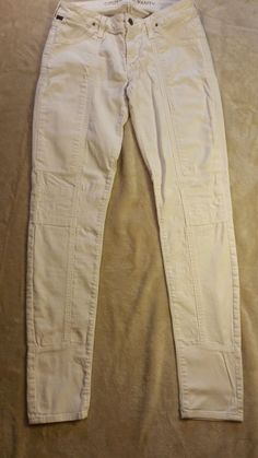 CITIZENS OF HUMANITY Jerome Dahan   white stretch jeans 28  #CitizensofHumanity #SlimSkinny