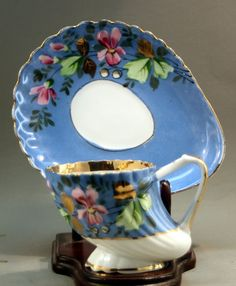 Imperial Russian Coffee cup and saucer by Kuznetsov (subversion redefined!)