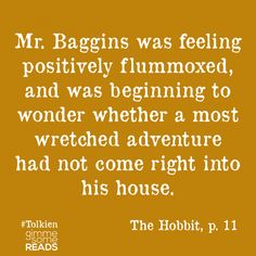 Hobbit Dictionary Definitions | gimmesomereads.com #TheHobbit #Tolkien