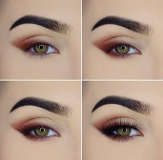 So pretty! So simple but just dramatic enough. You could do this look with multiple different shades.