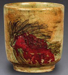 Füreya Koral, mug, cm (Erdinç Bakla archive) Ceramic Artists, Cement, Glaze, Archive, Mugs, Decor, Prague, Enamel, Cups