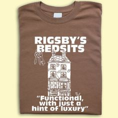 Rising Damp inspired Rigsbys Bedsits T-shirt