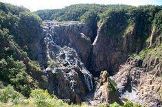 Barron Falls  Cairns Region, Queensland, Australia Atherton Tablelands, Gallon Of Water, Queensland Australia, Cairns, Waterfalls, Wonders Of The World, Waterfall, Falling Waters