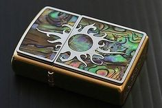 Zippo Lighter Produced in 2006 Shell 207G SUN Best Buy From Japan New