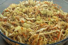 Salada de acelga e cenoura agridoce