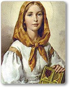 St. Dymphna- The patron saint of mental illness and anxious disorders.