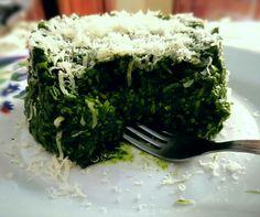 Zuccottino al riso integrale e spinaci, uniti da una noce di formaggio cremoso e una spolverata di grana! 🍜
