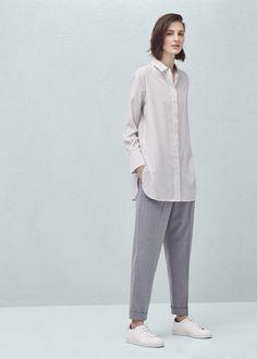 Рубашка в полоску - Рубашки - Женская | OUTLET Россия (Российская Федерация)