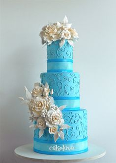 """Kalina"" wedding cake by Rick Reichart, cakelava"