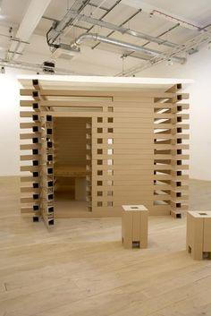 Paper Tea House by Shigeru Ban - la maison de thé du grand architecte coréen