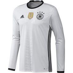 601c488dd adidas UEFA EURO 2016 Germany Home Long Sleeve Jersey Football Kits