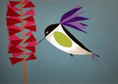 Charley Harper Animals - A Space to Create: tutorial on graphic composition Charley Harper, 6th Grade Art, Ecole Art, Bird Illustration, Animal Illustrations, Teaching Art, Teaching Ideas, Elementary Art, Paper Art