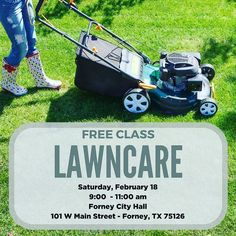 Is the green in your lawn weeds or grass? Do you have brown circles in your yard? Proper lawn care maintenance is a key component to a healthy lawn. This program covers basic lawn maintenance practices and selecting the right turf grass to improve the health and longevity of your landscape. You will learn how to maintain your landscape using less water fertilizer and pesticides. Register at: http://ift.tt/2lvw7ef
