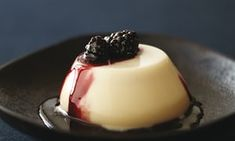 When blackberries are out of season, use strawberries, raspberries or blueberries for this dessert.