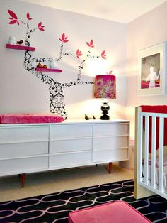 Affordable Kids' Room Decorating Ideas : Rooms : Home & Garden Television Dresser for Lexi