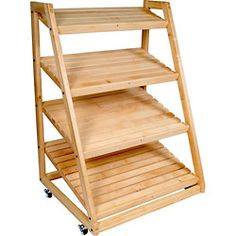 Custom made Bakery Racks - call Chef Depot .com for pricing Bread Display, Bakery Display, Cupcake Display, Bakery Decor, Bakery Design, Display Shelves, Shelving, Display Ideas, Bakery Store