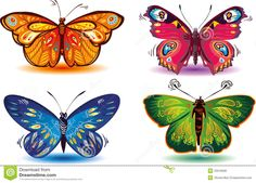 mariposas - Buscar con Google Butterfly Pattern, Printable Butterfly, Insects, Bee, Recycling Projects, Clip Art, Printables, Butterflies, Decoupage