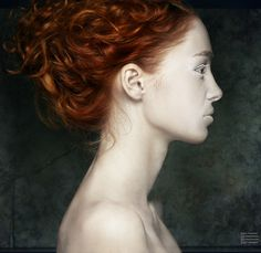 Territory Nine Style: Reminds me of my characters... Well, all redheads do now. I love it!