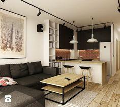 Salon styl Industrialny - zdjęcie od design me too