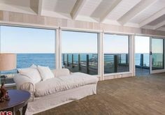 Much of the home is lined with floor-to-ceiling windows to take in the multi-million scenery.