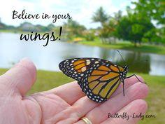 Believe in your wings!