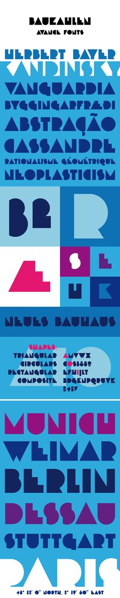 Bauzahlen Font on Behance #typography #bauzahlen #avancefonts