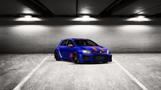 Come ti sembra il mio tuning #Volkswagen #Golf7 2014 in 3DTuning #3dtuning #tuning