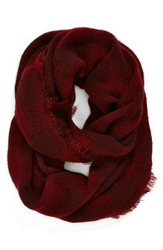 Leith Check Pattern Infinity Scarf | Nordstrom