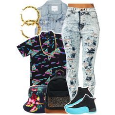A fashion look from March 2014 featuring Talula vests, NIKE shoes and MiPac backpacks. Browse and shop related looks.