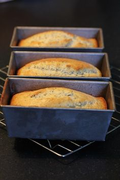 LEMON POPPY BREAD to add to your care package