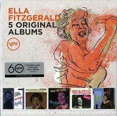 FITZGERALD ELLA - 5 ORIGINAL ALBUMS - BOX 5  CD  NUOVO http://ebay.eu/25wV6eG