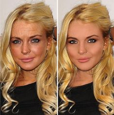 Before and after photoshop.Maybe if more people knew how models and celebrities looked before their images were retouched, they'd appreciate their own flaws and their own beauty with an unwavering desire to never compare themselves to anyone else ever again.