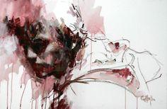 Cian McLoughlin painting