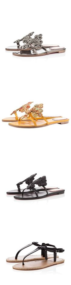 Louboutin makes sandals - did you know?