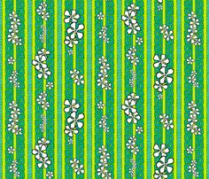 Lemon Lime Luau fabric by madtropic on Spoonflower - custom fabric