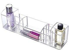 Bathroom Organization: Choice Fun Acrylic Makeup Organizer Bathroom Storage Tray…