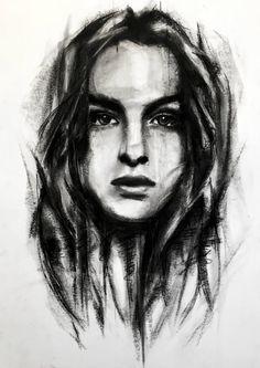Charcoal sketch made by Denny Stoekenbroek