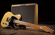 Fender Blackguard Telecaster & Tweed Twin Amp