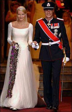 Image result for mette marit wedding
