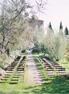 wedding in Tuscany --- photo by Jose Villa