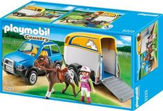 Playmobil - 4WD and Horse Trailer - 5223 - Bunyip Toys